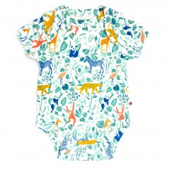 Baby Bodysuit - Animal Adventure