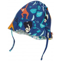Reversible Baby Sun Hat - Wildlife