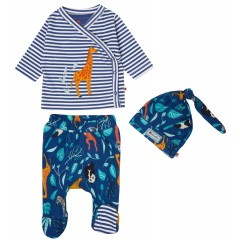 3 Piece Baby Set - Wildlife