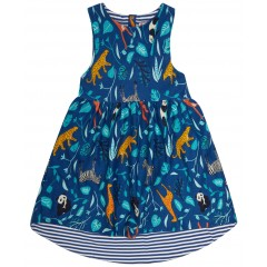 Dropped Hem Dress - Wildlife