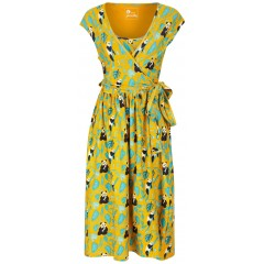 Women's Wrap Dress - Panda