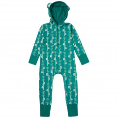 Hooded Sleepsuit - Koala