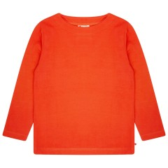 Building Block Long Sleeve Top - Nasturtium