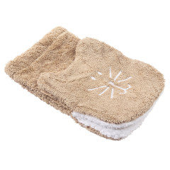 Tiger Puppet Washcloth - Natural