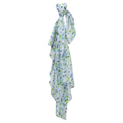 Piccalilly Organic Cotton Green Boys Toy Box Print Muslin Swaddle 120x120cm