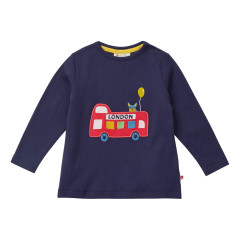 Piccalilly London Bus Top for Kids