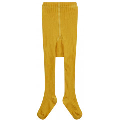 Piccalilly Mustard Yellow Kids Tights