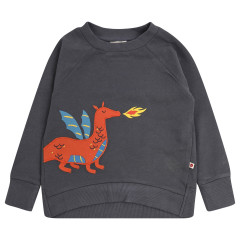 Piccalilly Dragon Sweatshirt for Kids