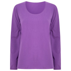 Upcycled Women's Top - Purple Beetroot