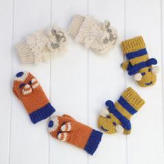 Winter Knitwear Mitten Set 3 Piece
