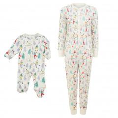 Winter Wonderland Pyjamas Set - Mother & Baby