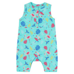 Piccalilly Upcycle Tropical Shortie Romper