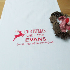 Personalised Christmas Dinner Table Runner