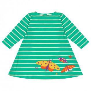 Piccalilly Moonlight Moth Dress for Girls