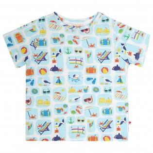 All Over Print T-Shirt - Seaside