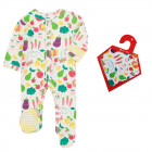 Grow Your Own Sleepsuit & Muslin Bib Set