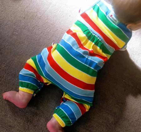 The perfect fit - Finding clothes to fit over a cloth nappy